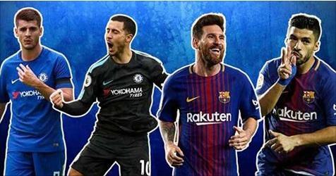 Ligue des Champions d'Europe: Compositions probables de Chelsea et la Barça