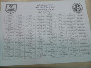 Calendrier Championnat Tunisien.Calendrier Du Championnat National De La Ligue 1