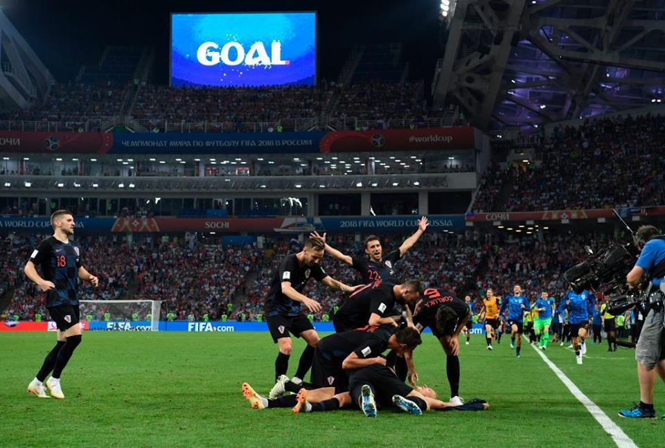 La Croatie se qualifie en demi-finale au détriment de la Russie