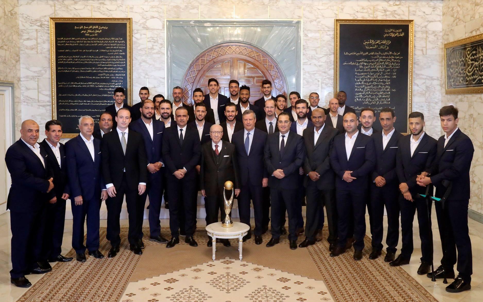 BCE reçoit une délégation de l'Espérance de Tunis (Photos)