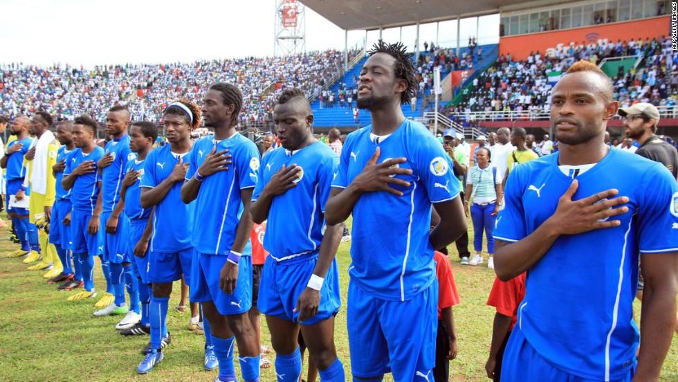 Afrique : CAN 2019 : La Sierra Leone disqualifiée