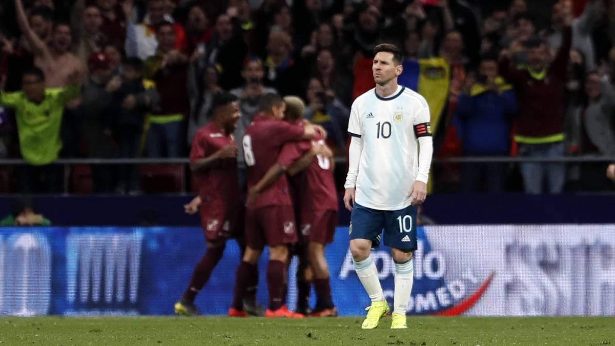 Messi sévèrement critiqué par les médias