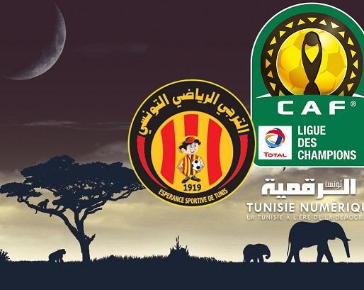 L'Espérance de Tunis correspond avec la CAF