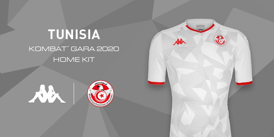 CAN 2019 [Photo] : Kappa dévoile les maillots de la Tunisie