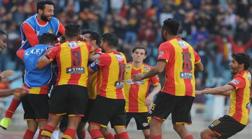 Ligue 1 : formation rentrante de l'Espérance de Tunis contre l'US Tataouine