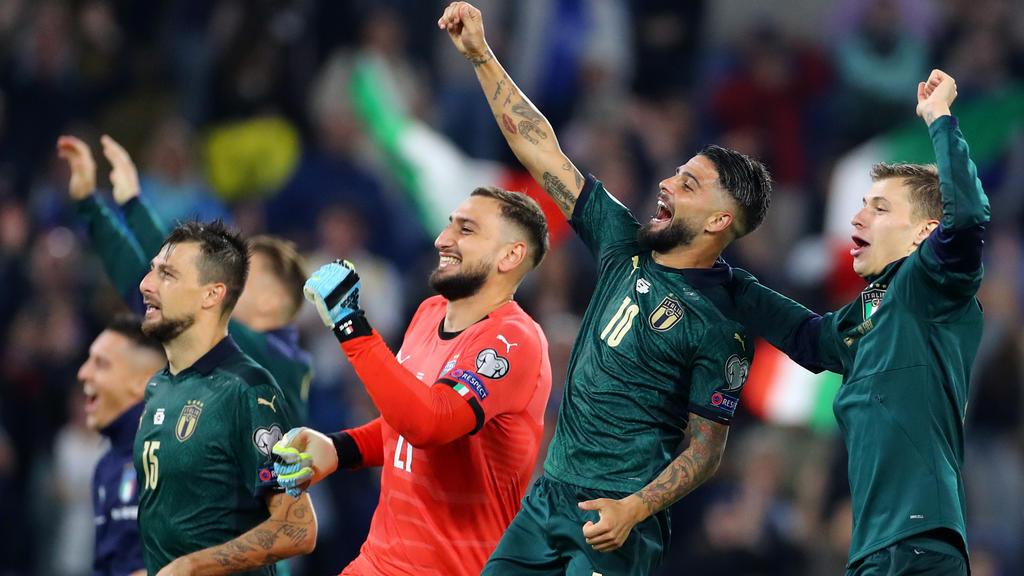 Euro 2020 : les pays qualifiés jusqu'ici