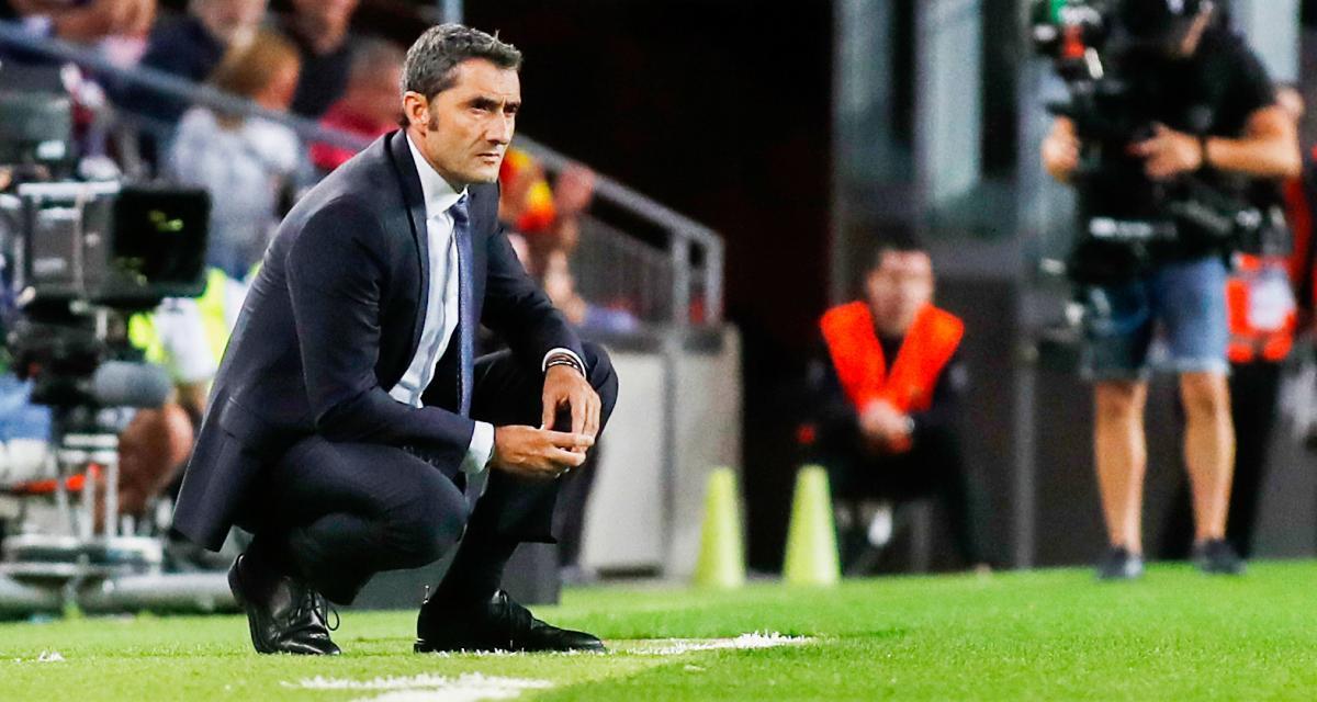 FC Barcelone : Valverde remercié, un nouvel entraîneur arrive