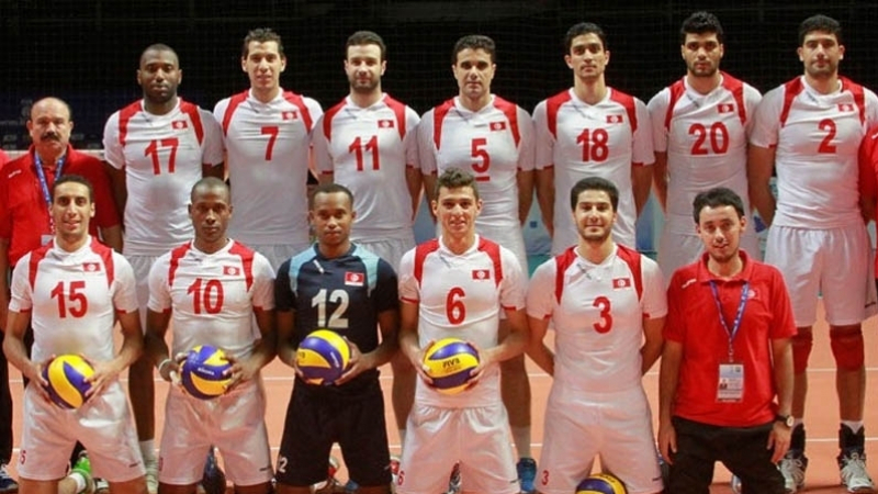 Volley-ball : La Tunisie conserve sa 17ème place mondiale