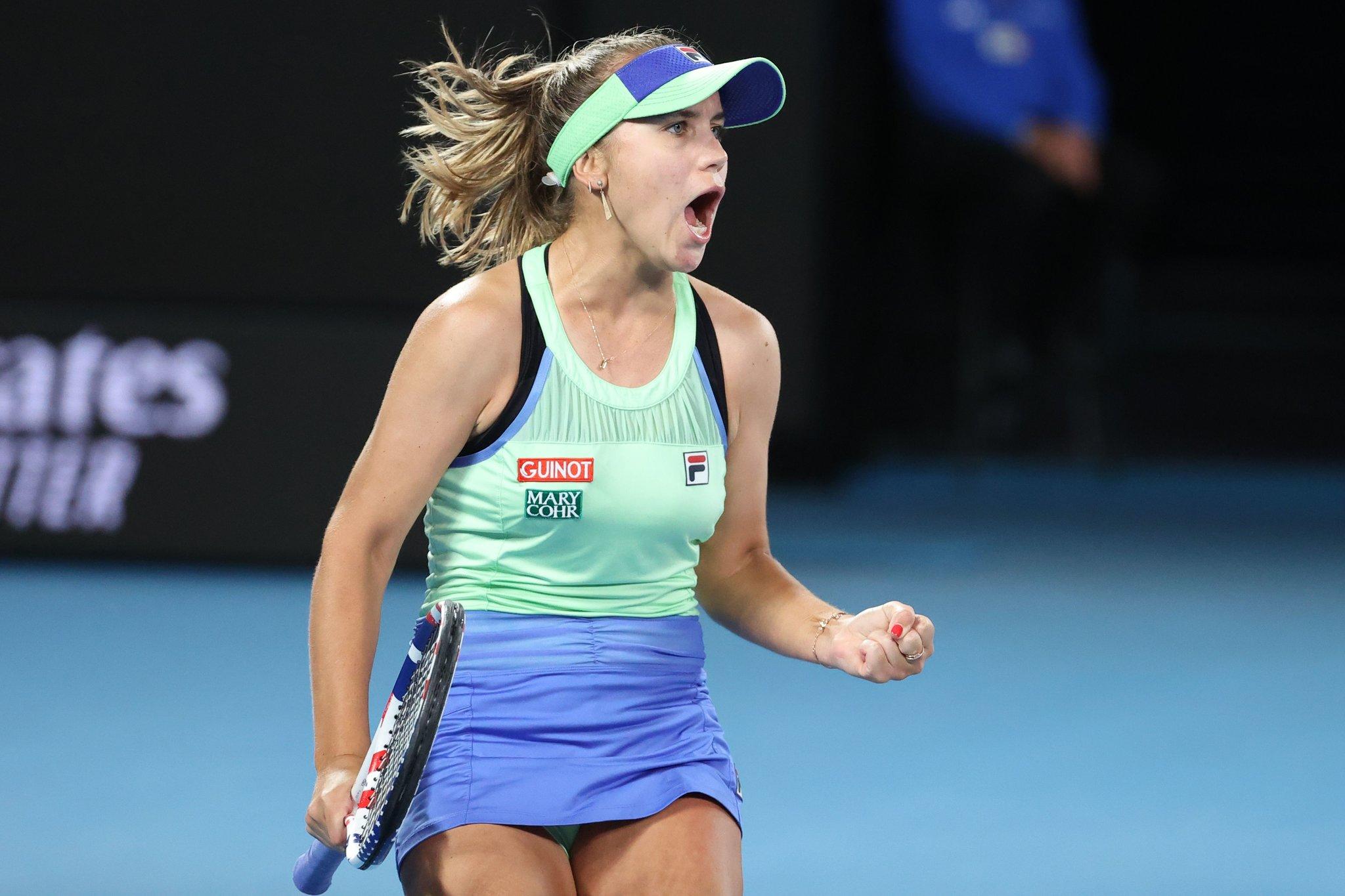 Kenin prive Barty d'une finale devant son public — Open d'Australie