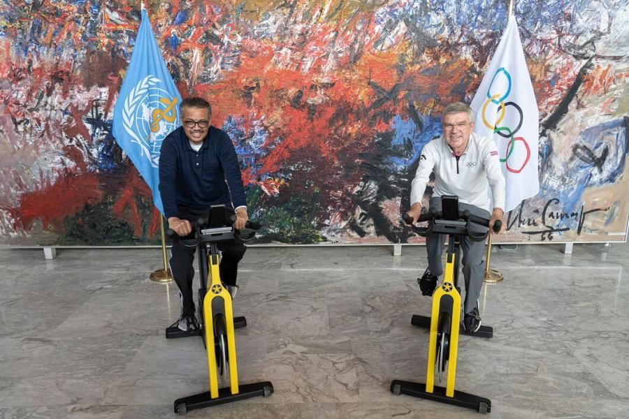 Coronavirus : Le CIO et l'OMS unis pour favoriser la santé via le sport