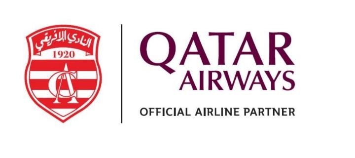 OFFICIEL : Qatar Airways devient le sponsor du Club Africain