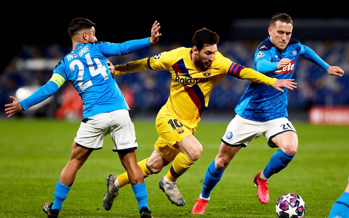 FC Barcelone – Naples : Sur quelle chaîne voir le match ?