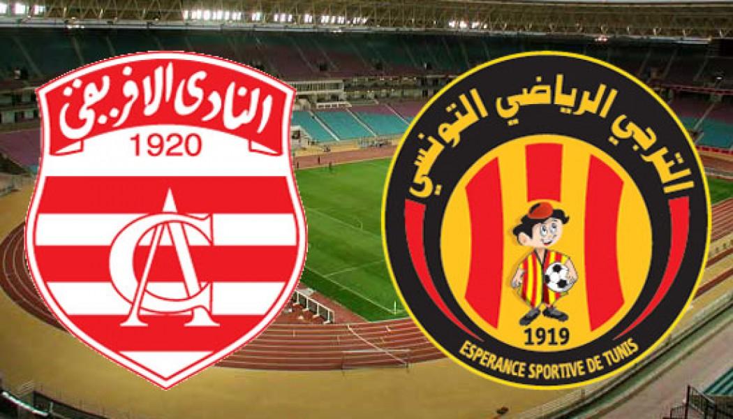 Club Africain – Espérance de Tunis : Bilan des confrontations entre les deux équipes