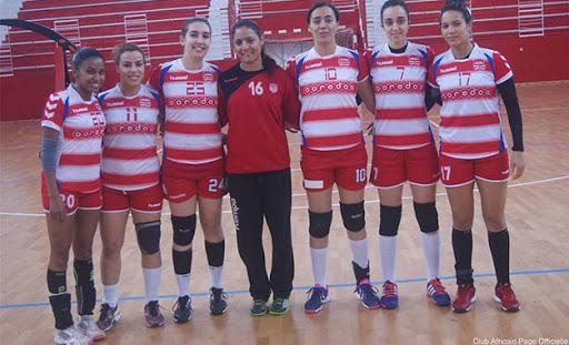 Handball : Les dames du Club Africain remportent le championnat de Tunisie