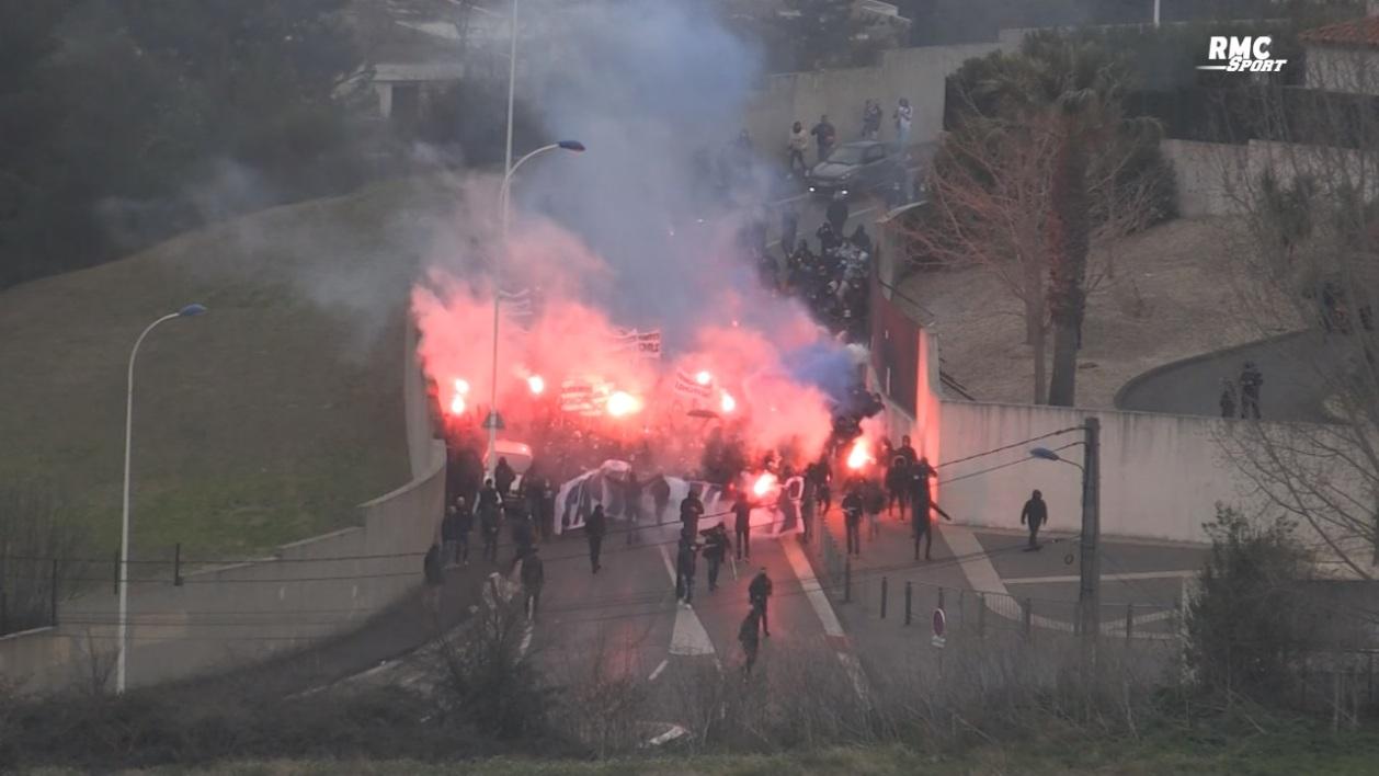 France : Lesmanifestationsdes supporters de l'OM reportent le match contre Rennes