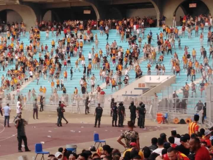 Espérance de Tunis – Al Ahly : le match retardé d'une heure