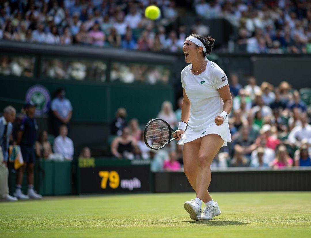 Wimbledon : Ons Jabeur écrit encore sa légende