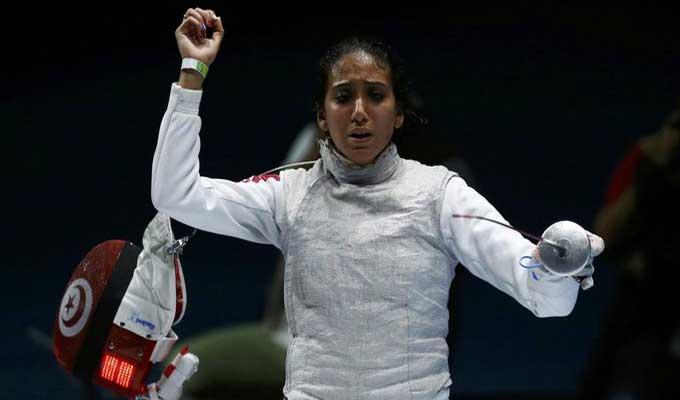 Jeux Olympiques : Inès Boubakri éliminée d'entrée