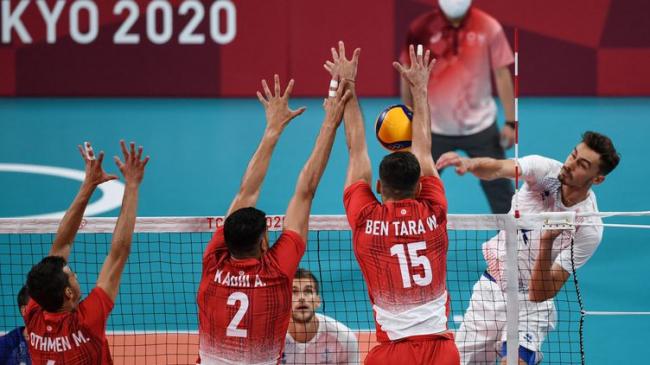 Jeux Olympiques – Volley : La Tunisie s'incline contre la France